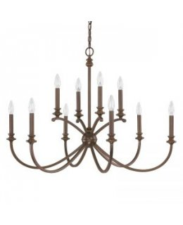 Capital Lighting 4747BB-000 Alexander 36 Inch Chandelier