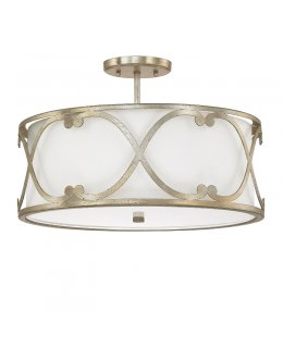 Capital Lighting 4743WG-610 Alexander Flush Ceiling Fixture