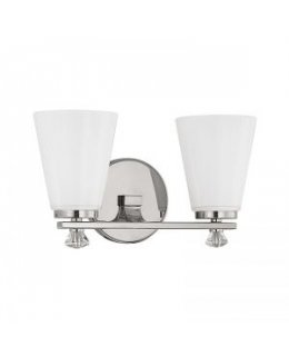 Capital Lighting 8022PN-127  Alisa Bath Vanity 2 Light