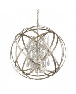 Capital Lighting 4234WG-CR Axis Crystal 23 Inch Pendant