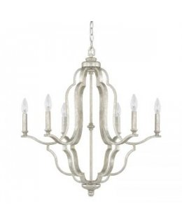 Capital Lighting 4946AS-000 Blair 26 Inch Chandelier