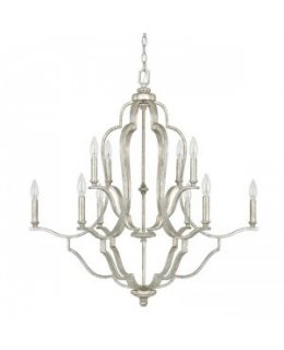 Capital Lighting 4940AS-000 Blair 33 Inch Chandelier