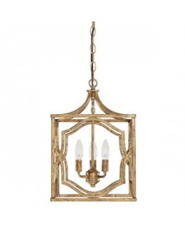 Capital Lighting 9481AG Blakely 3 Light Foyer Pendant