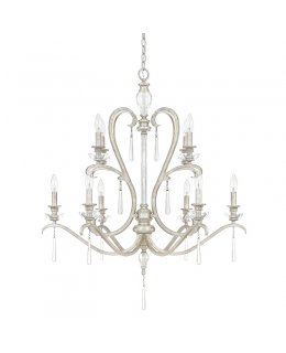 Capital Lighting 4788AS-000  Celine 33 Inch Chandelier