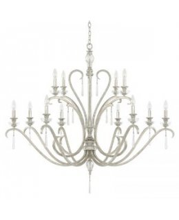 Capital Lighting 4782AS-000 Celine 49 Inch Chandelier