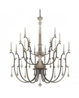 Capital Lighting 4098FO Chateau 16 Light Chandelier
