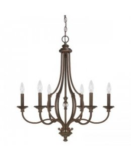 Capital Lighting 4706BB-000 Leigh 26 Inch Chandelier