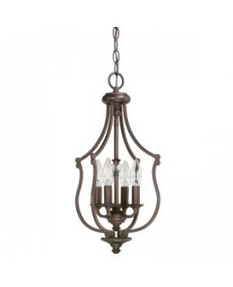 Capital Lighting 4704BB Leigh 11 INCH Foyer Pendant
