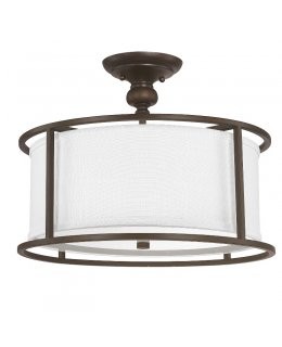 Capital Lighting 3914BB-459 Midtown Semi-Flush Ceiling Fixture