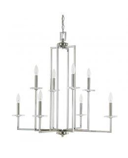 Capital Lighting 4818PN Morgan 32 Inch Chandelier