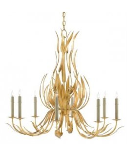 Currey & Company Model  9000-0107-CC Longleaf Chandelier