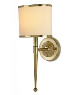 Currey & Company 5121-CC  Primo Gold Wall Sconce