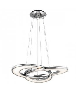 Elan Lighting Model ELA-83619 Destiny LED Pendant Light Fixture Chrome Finish