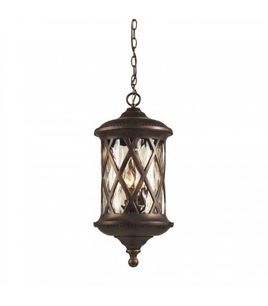 Elk Lighting 42033-3 Barrington Gate Outdoor Pendant