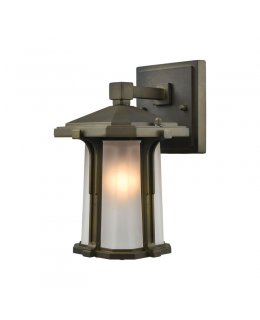 Elk Lighting  87090-1 Brighton 6 Inch Outdoor Wall Sconce