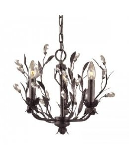 Elk Lighting 8058-3 Circeo 3 Light Chandelier