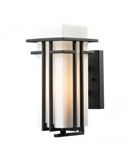Elk Lighting 45085-1 Croftwell 6 Inch Outdoor Wall Sconce