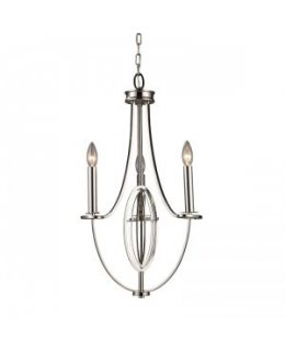 Elk Lighting 10120-3 Dione 12 Inch Chandelier