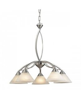 Elk Lighting 7636-5 Elysburg 25 Inch Chandelier