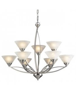 Elk Lighting 7638-6-3 Elysburg 34 Inch Chandelier