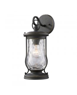 Elk Lighting 43016-1  Farmstead Outdoor Wall Sconce Matte Black Finish