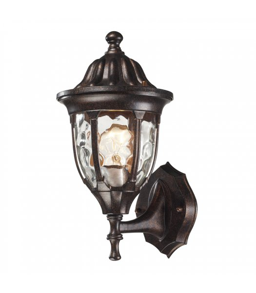 Elk Lighting 45000-1 Glendale 13 Inch Outdoor Wall Sconce