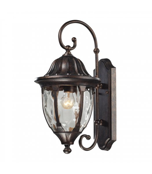 Elk Lighting 45003-1 Glendale 18 Inch Outdoor Wall Sconce