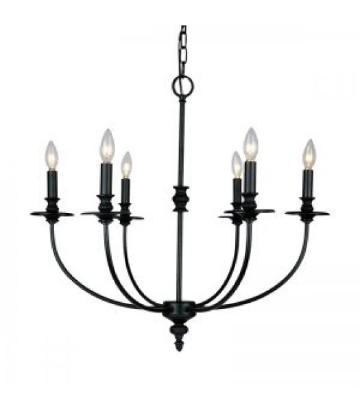 Elk Lighting 286-OB Hartford 25 Inch Chandelier