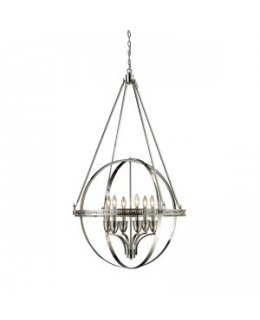 Elk Lighting 10193-6 Hemispheres Chandelier