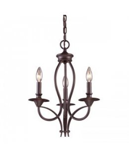 Elk Lighting 61031-3 Medford 14 Inch Chandelier