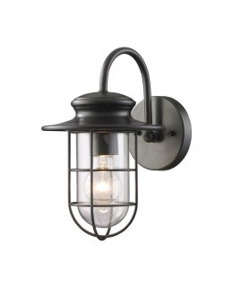 "Elk Lighting 42284-1 Portside 7"" Outdoor Wall Sconce"