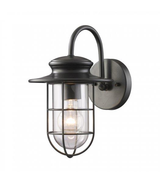 "Elk Lighting 42284-1 Portside 7"" Outdoor Wall Sconce"