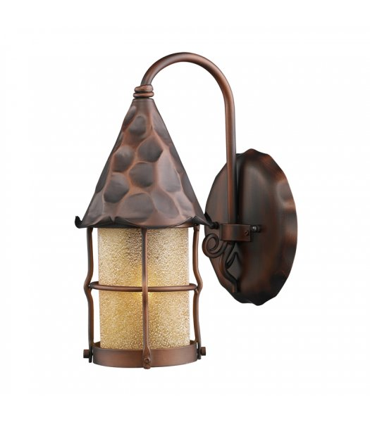 Elk Lighting 381-AC  Rustica Outdoor Wall Sconce