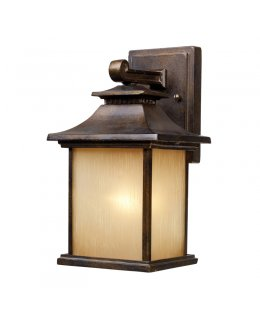 Elk Lighting 42180-1 San Gabriel Outdoor Wall Sconce Hazelnut Bronze Finish