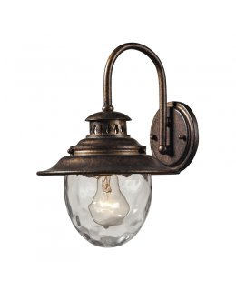 Elk Lighting 45030-1  Searsport Outdoor Wall Sconce