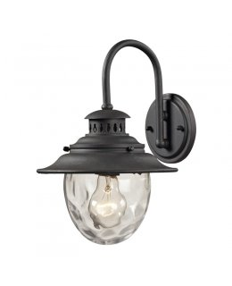 Elk Lighting 45040-1  Searsport Outdoor Wall Sconce