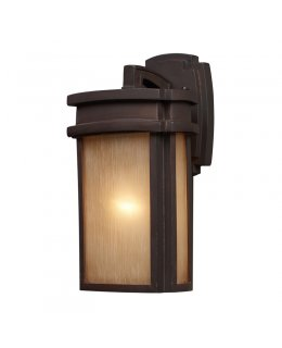 "Elk Lighting 42140-1 Sedona 7"" Outdoor Wall Sconce"