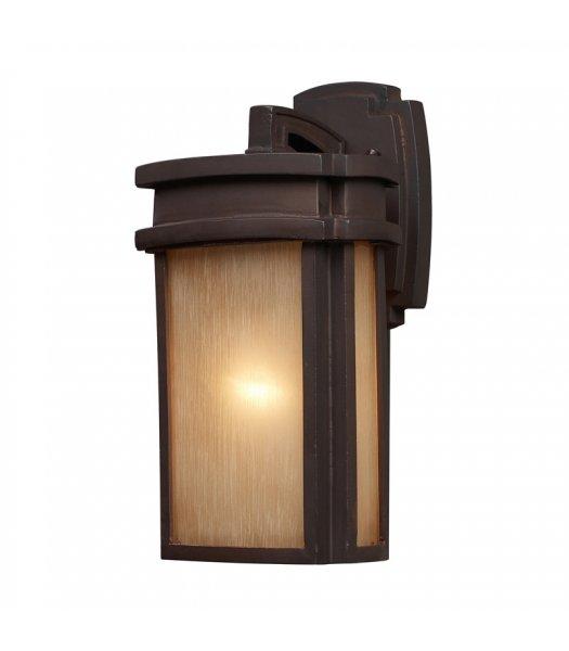 """Elk Lighting 42140-1 Sedona 7"""" Outdoor Wall Sconce"""