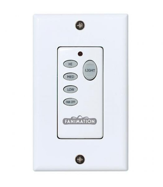 Fanimation C25 Fan and Light Wall Control