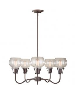 Feiss F2824-5RI Urban Renewal F2824 Chandelier