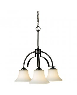 Feiss F2250-3ORB 22 Inch Barrington Downlight Chandelier