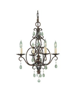 Feiss F1904-4MBZ 17 Inch Chateau Chandelier