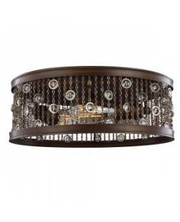 Feiss FM449CSTB  Colorado Springs Flush Mount Ceiling