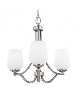 Feiss Lighting F2963-3SN Vinter 3 Light Uplight Chandelier