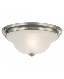 """Feiss FM251BS  13"""" Vista Ceiling Flush Light"""