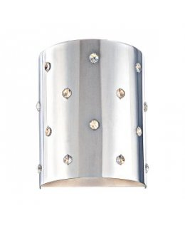 George Kovacs Model P037-077   Bling Bling Wall Sconce Light Fixture Chrome with crystals Finish