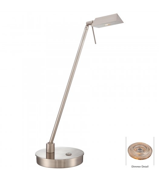 George Kovacs P4316-084 Georges Reading Rm LED Desk Lamp