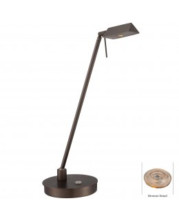 George Kovacs P4316-647 Georges Reading Rm LED Desk Lamp