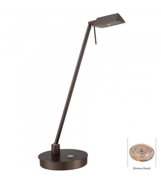 George Kovacs P4316-647 Georges Reading Rm LED Desk Lamp