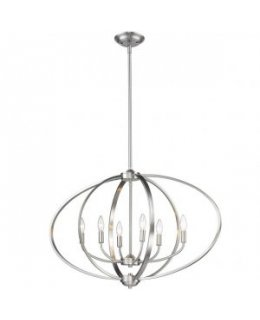 Golden Lighting 3167-LP-PW Colson Chandelier